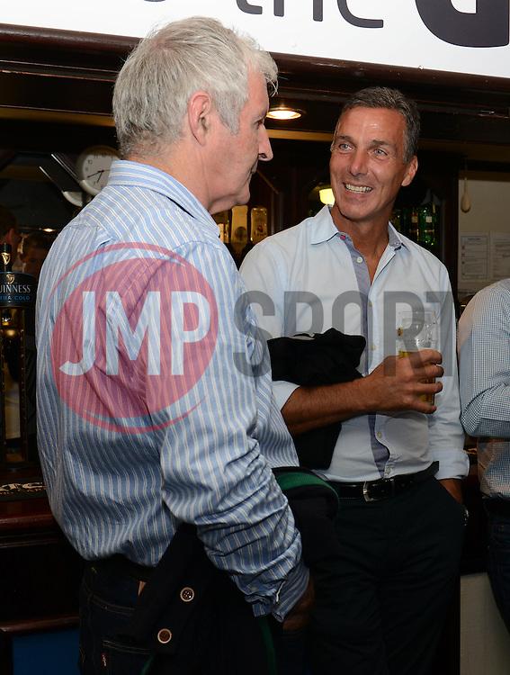 Geoff Twentyman and Andy Tillson - Mandatory byline: Dougie Allward/JMP - 07966386802 - 31/07/2015 - FOOTBALL - Memorial Stadium -Bristol,England - Bristol Rovers v West Brom - Phil Kite Testimonial Match