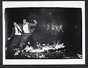 Burning Boat, Oriel College, Oxford, 1984