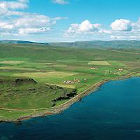 Guðlaugsvík og Skálholtsvík, Bæjarhreppur. / Farms Gudlaugsvik and Skalholtsvik in Baejarhreppur.