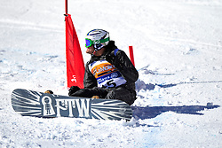 Competition Day 2 at the 2014 IPC Snowboarder-Cross World Cup, La Molina, Spain