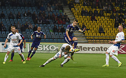 Žan Zaletel of Celje and Luka Zahović of Maribor in action during football match between NK Maribor and NK Celje in Round #24 of Prva liga Telekom Slovenije 2018/19, on March 30, 2019 in stadium Ljudski vrt, Maribor, Slovenia. Photo by Milos Vujinovic / Sportida