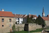 Koeszeg, Guens in Western Hungary.Stadt Köszeg Güns, West Ungarn