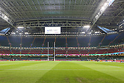 The Millennium Stadium before during the Rugby World Cup Quarter Final match between Ireland and Argentina at Millennium Stadium, Cardiff, Wales on 18 October 2015. Photo by Shane Healey.