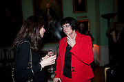 SALLY BACON; MAGGIE ATKINSON, Founding Fellows 2010 Award Ceremony. Foundling Museum on Monday  8 March