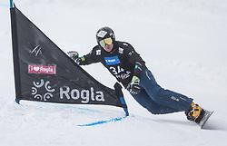 Mastnak Tim during the FIS snowboarding world cup race in Rogla (SI / SLO) | GS on January 20, 2018, in Jasna Ski slope, Rogla, Slovenia. Photo by Urban Meglic / Sportida