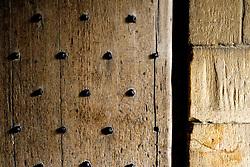 Detail of a door in Stirling Castle, Scotland<br /> <br /> (c) Andrew Wilson   Edinburgh Elite media