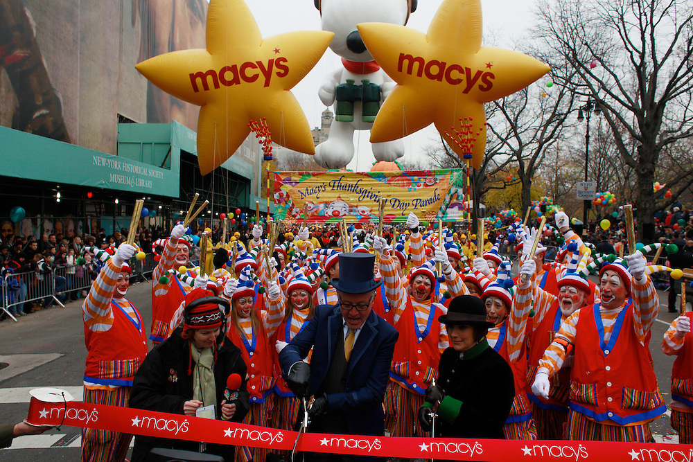 Macys Thanksgiving Parade. Midtown, Manhattan