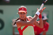 Roland Garros. Paris, France. May 27th 2012.Serbian player Ana IVANOVIC against Lara ARRUABARRENA-VECINO...