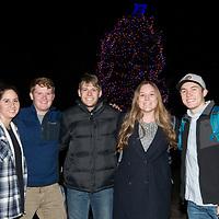 Annual Boise State Tree Lighting in the Quad, Allison Corona photo.