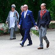 NLD/Amsterdam/20110729 - Uitvaart actrice Ina van Faassen, Frans Mulder