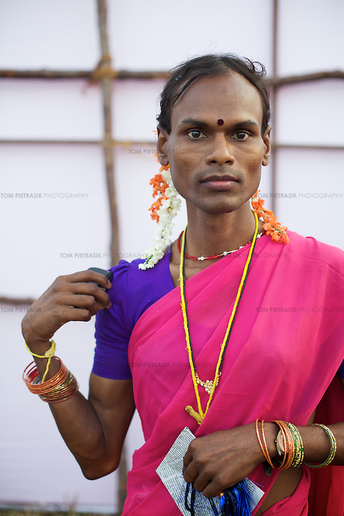 Transexual, Transgenders And Aravani Gay Men In Tamil Nadu, India  Tom Pietrasik -5792