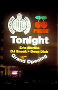 Ministry of Sound window, Ibiza 1998