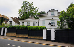 """UNITED KINGDOM WIMBLEDON 26JUN09 - General view of Chelsea midfielder Michael Ballack's house on Burghley Road in Wimbledon, his home in London. The newlyweds Boris Becker & Sharlely """"Lilly"""" Kerssenberg have recently moved into a 6-million pound property in Burghley Road, Wimbledon, London...jre/Photo by Jiri Rezac..© Jiri Rezac 2009"""