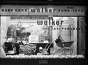 7/7/1958<br /> <br /> 7 June 1958<br /> <br /> Walkers Store front on St. Stephens Green for Modern Display Artists