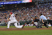 The Washington Nationals versus The New York Mets. August 2011.
