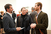 COUNT MANFREDI DELLA GHEREDESCA;; LORD LINLEY; Rodolphe von Hofmannsthal, Gerhard Richter: Panorama. Tate Modern. London. 4 October 2011. <br /> <br />  , -DO NOT ARCHIVE-© Copyright Photograph by Dafydd Jones. 248 Clapham Rd. London SW9 0PZ. Tel 0207 820 0771. www.dafjones.com.