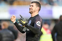 Matthew Ryan of Brighton and Hove Albion celebrates winning on penalties - Mandatory by-line: Arron Gent/JMP - 17/03/2019 - FOOTBALL - The Den - London, England - Millwall v Brighton and Hove Albion - Emirates FA Cup Quarter Final