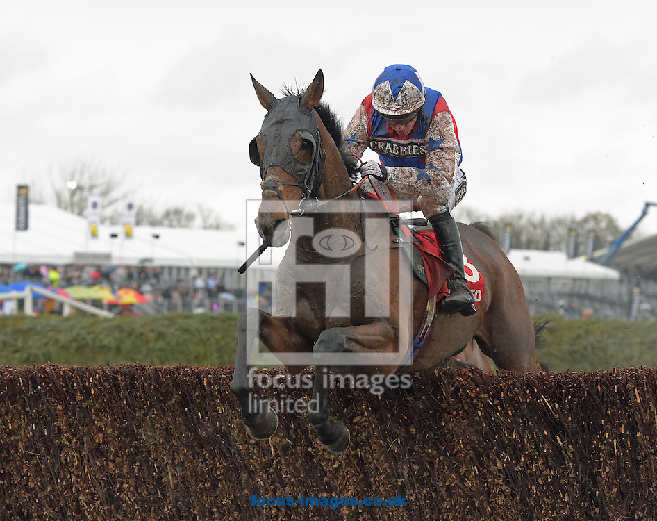 A preview of this weekend's favourites in UK Racing.<br /> Picture by Martin Lynch/Focus Images Ltd 07501333150<br /> 09/12/2016<br /> <br /> Original caption:<br /> THOMAS BROWN at Aintree 9-4-16.