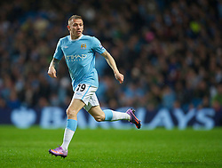 WIGAN, ENGLAND - Monday, March 29, 2010: Manchester City's Craig Bellamy in action against Wigan Athletic during the Premiership match at the City of Manchester Stadium. (Photo by David Rawcliffe/Propaganda)