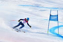 FITZPATRICK Menna B2 GBR Guide: KEHOE Jennifer competing in ParaSkiAlpin, Para Alpine Skiing, Super G at PyeongChang2018 Winter Paralympic Games, South Korea.