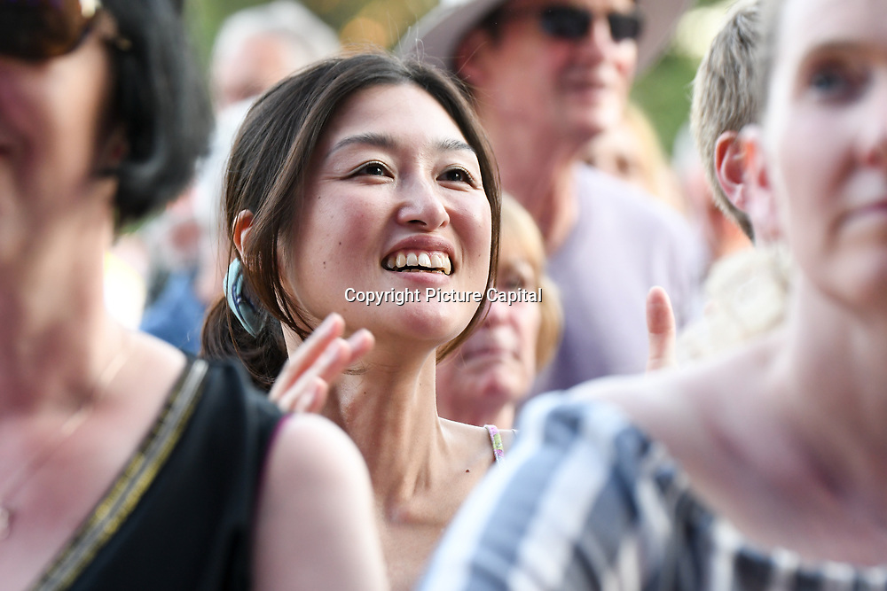 Thousands attend the best picnic concert at Kew The Music Festival 2018 Day 6  Jools Holland, Ella Janes and Jazz Morley at Kew Garden on 14 July 2018, London, UK.