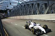 September 18-21, 2014 : Singapore Formula One Grand Prix - Valtteri Bottas (FIN), Williams-Mercedes