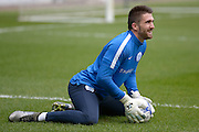 QPR Goalkeeper Matt Ingram during the Sky Bet Championship match between Milton Keynes Dons and Queens Park Rangers at stadium:mk, Milton Keynes, England on 5 March 2016. Photo by Dennis Goodwin.