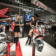Eicma: Salone Internazionale del Motociclo, la più importante fiera mondiale delle due ruote edizione 2013.<br /> <br /> Eicma: the most important exhibition in the world dedicated to motorbike , 2013 edition.