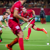 ANTWERPEN - Arthur van Doren (Belgie)  tijdens finale mannen  Belgie-Spanje-,  bij het Europees kampioenschap hockey.  COPYRIGHT KOEN SUYK