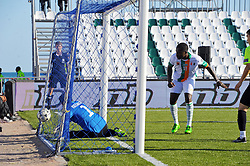 October 9, 2017 - Nabeul, Tunisia - Diane Amara(11) of Ivory coast  who scores a goal  during the second day of the group stage of the WMF World of Mini Foot 2017, played in Nabeul (60km south of Tunis) between Kazakhstan and the Ivory coast. (Credit Image: © Chokri Mahjoub via ZUMA Wire)