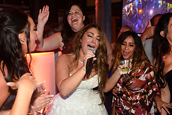 "EXCLUSIVE: 'Jersey Shore' alum, Deena Cortese reunited with her Jersey Shore castmates on Saturday as they showed up to celebrate with her and Chris Buckner. The Shore-studded wedding in Cortese's hometown of New Egypt, N.J. included guests Nicole ""Snooki"" Polizzi, Jenni ""JWoww"" Farley, Vinny Guadagnino, Paul ""DJ Pauly D"" DelVecchio, Sammi ""Sweetheart"" Giancola and Mike ""The Situation"" Sorrentino. 28 Oct 2017 Pictured: Deena Cortese, Nicole ""Snooki"" Polizzi. Photo credit: Aaron Showalter / MEGA TheMegaAgency.com +1 888 505 6342"