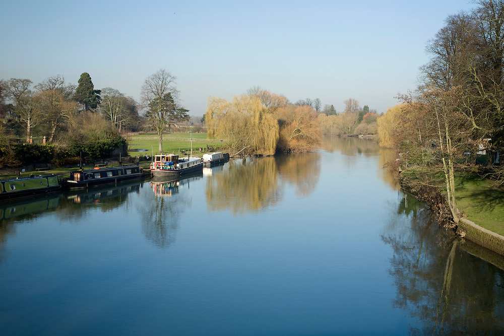 River Thames from Streatley Bridge
