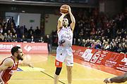 Manuchar Markoishvili<br /> Grissin Bon Reggio Emilia - Openjobmetis Pallacanestro Varese<br /> LegaBasket Serie A 2017/2018<br /> Reggio Emilia, 16/12/2017<br /> Foto Ciamillo-Castoria