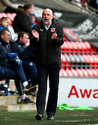 Fleetwood Town manager Uwe Rosler applauds his team - Mandatory by-line: Matt McNulty/JMP - 14/01/2017 - FOOTBALL - Highbury Stadium - Fleetwood, England - Fleetwood Town v Bristol Rovers - Sky Bet League One
