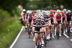 Leah Kirchmann (CAN) on the front as Team Sunweb close the gap to the break at OVO Energy Women's Tour 2018 - Stage 4, a 130 km road race from Evesham to Worcester, United Kingdom on June 16, 2018. Photo by Sean Robinson/velofocus.com