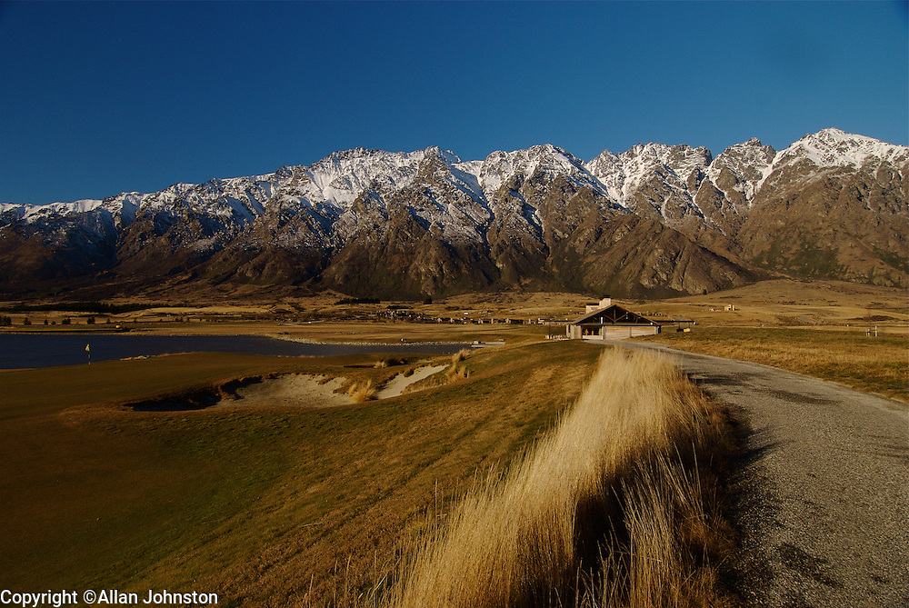 Queenstown Golf New Zealand High country outback Tourism Outback NZ