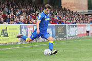 AFC Wimbledon midfielder Chris Whelpdale (11) in action during the EFL Sky Bet League 1 match between AFC Wimbledon and Shrewsbury Town at the Cherry Red Records Stadium, Kingston, England on 24 September 2016. Photo by Stuart Butcher.