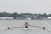 Eton, GREAT BRITAIN, USA M2- Bow, Dan BEERY and Sam BURNS,   move  away from the start.  2006 World Rowing Championships, 20/08/2006.  Photo  Peter Spurrier, © Intersport Images,  Tel +44 [0] 7973 819 551,  email images@intersport-images.com Rowing Course, Dorney Lake