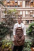 Chef Shane Osborn at Arcane, 3/F, 18 On Lan Street, Hong Kong