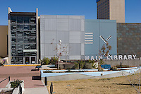 New Main Library in downtown, El Paso, Texas.