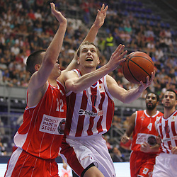 20131101: SRB, Basketball - Jaka Blazic, player of KK Crvena Zvezda