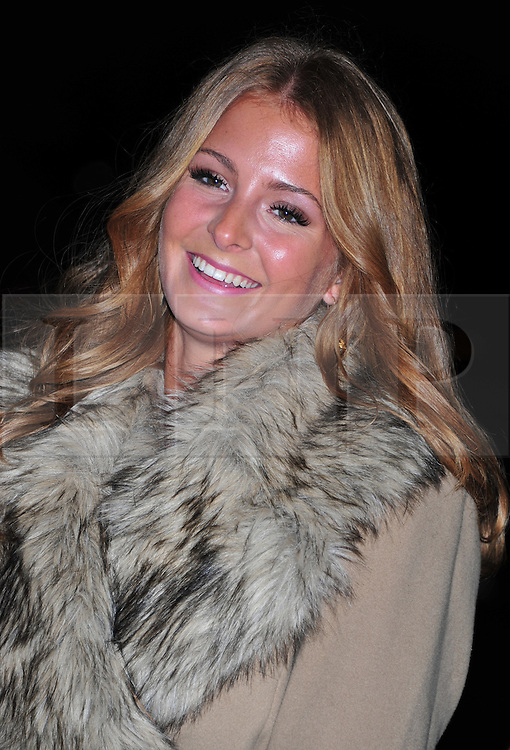 © Licensed to London News Pictures. 18/01/2012. London, England. Millie Mackintosh attends the Daily Mail Inspirational Women awards 2012 at the Marriot Grosvenor Hotel London  Photo credit : ALAN ROXBOROUGH/LNP