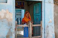 Inde, Rajasthan, village de Ghanerao  // India, Rajasthan, Ghanerao village
