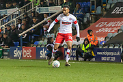 Julien Lamy (26)  during the EFL Sky Bet League 1 match between Peterborough United and Rotherham United at London Road, Peterborough, England on 25 January 2020.