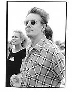 Calvin Klein. Van Cleef and Arples Cup. Polo. Bridgehampton.1995 (approx).© Copyright Photograph by Dafydd Jones 66 Stockwell Park Rd. London SW9 0DA Tel 020 7733 0108 www.dafjones.com