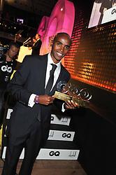 MO FARAH at the GQ Men of The Year Awards 2012 held at The Royal Opera House, London on 4th September 2012.