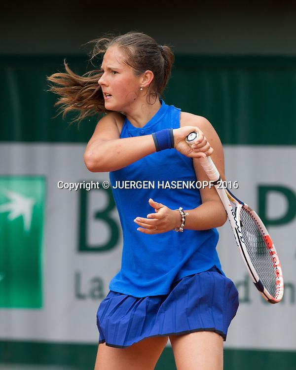 Daria Kasatkina (RUS)<br /> <br /> Tennis - French Open 2016 - Grand Slam ITF / ATP / WTA -  Roland Garros - Paris -  - France  - 24 May 2016.