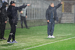 Matjaz Kek, head coach of HNK Rijeka and Marijan Pusnik, head coach of HNK Hajduk during football match between HNK Rijeka and HNK Hajduk Split in Round #15 of 1st HNL League 2016/17, on November 5, 2016 in Rujevica stadium, Rijeka, Croatia. Photo by Vid Ponikvar / Sportida