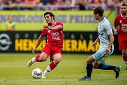 16-08-2017 NED: Europa League FC Utrecht - Zenit St. Petersburg, Utrecht<br /> Utrecht wint met 1-0 van Zenit / Yassin Ayoub #8 of FC Utrecht