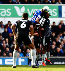 Alan Judge of Ipswich Town Ovie Ejaria of Reading - Mandatory by-line: Phil Chaplin/JMP - FOOTBALL - Portman Road - Ipswich, England - Ipswich Town v Reading - Sky Bet Championship